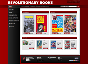 Revolutionary Books - Book store selling Marxist literature based in UK; shipping worldwide