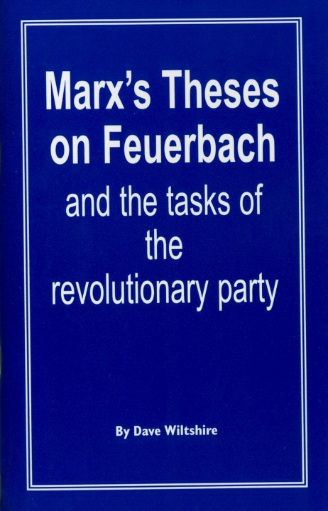 Marx theses on feuerbach explanation